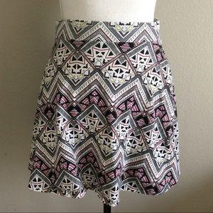 PINK Victoria's Secret | Skater Skirt Aztec Print